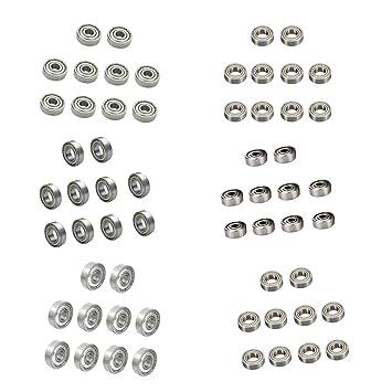 50x Mini Rodamiento de bolas radiales parte de Impresora 3D ...