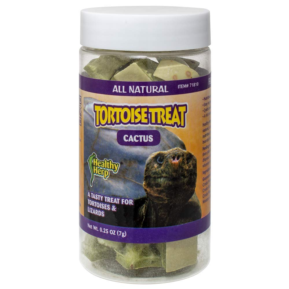 Healthy Herp Tortoise Treat Cactus 0.25-Ounce (7.1 Grams) Jar