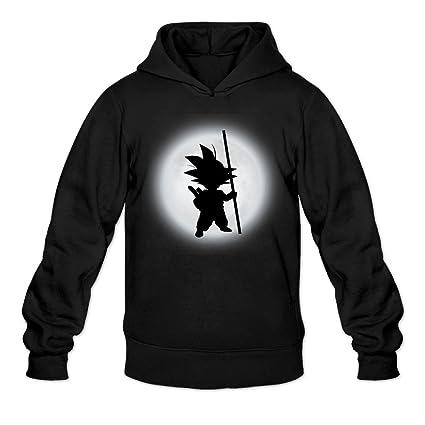 CYANY son Goku Sombra DBZ japonés Comic Character Logo Sudaderas con Capucha Sudadera Negro de la