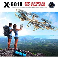 New X-Series 2.4GHz 4 Channels 3D Roll 6 Axis Gyro Wireless Real-time HD Video FPV Camera WiFi FPV Quadcopter RC Hexacopter