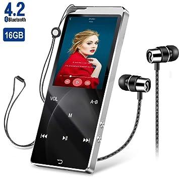 HIEHA - Reproductor de música (Bluetooth 4.2, con función de ...