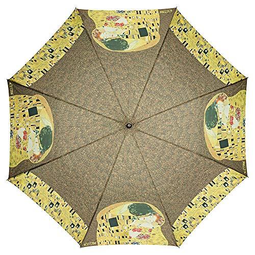 Von LILIENFELD Paraguas Automática Mujer Motivo Arte Gustav Klimt: El beso: Amazon.es: Equipaje