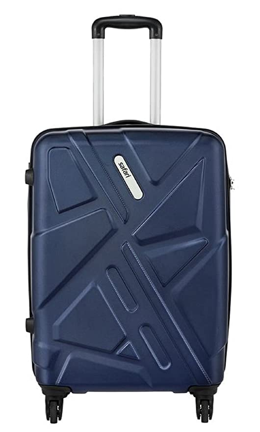 d25ca1038b Safari Polycarbonate 76 cms Purple Hardsided Suitcase (TRAFFIK Anti-Scratch  4W 77 New Purple