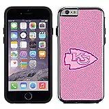 NFL Kansas City Chiefs Football Pebble Grain Feel No Wordmark iPhone 6 Case, Pink
