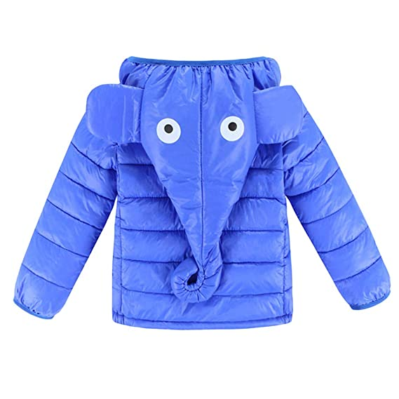 8df46e95c967 girlove 💕 Kids Baby Girl Boy Winter Hooded Coat Elephant Trunk Ears ...