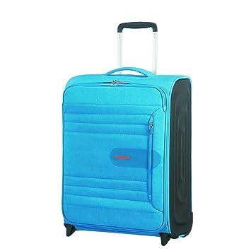 American Tourister Sonicsurfer - Upright 55/20 Equipaje de Mano, 55 cm, 43 Liters, Azul (Blue Lagoon): Amazon.es: Equipaje