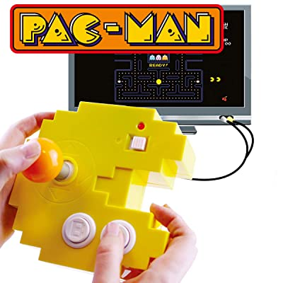 Pac-Man Connect and Play - 12 Classic Games: Toys & Games