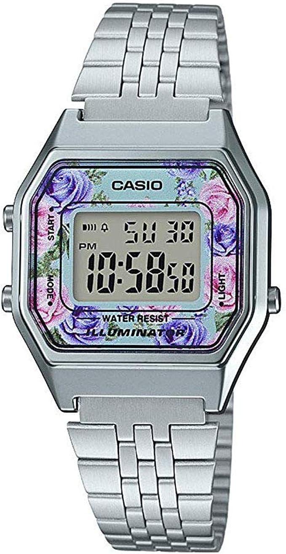 Casio Femmes Digital Quartz Montre avec Bracelet en Acier  2Lvwf