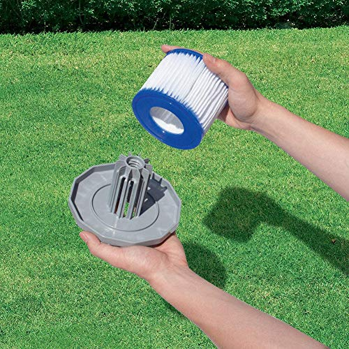 WISREMT P57100102 Swimming Pool Water Pump Filter Cartridges, Type D VII