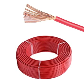 28Amp 2.5mm BLACK, 50 Metres MKGT AUTOMOTIVE 12V 24V SINGLE CORE THINWALL RED//BLACK CAR CABLE WIRE AUTO MARINE