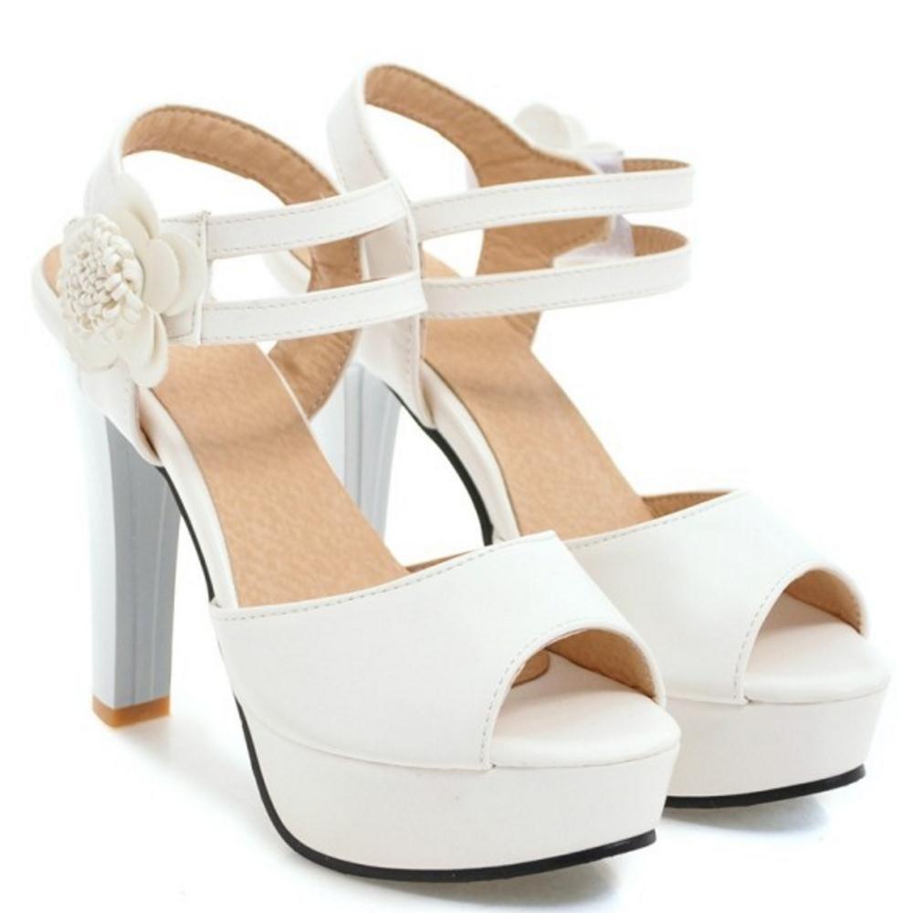 online store e319f 9dabe ... AicciAizzi Women Platform Sandals Shoes 8 US       25 CM White  B07DHGLVB6 a8d3c1 ...