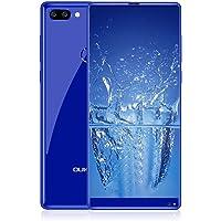 "Oukitel Mix 2 - 4G Smartphone Libre (Android 7.0, 5.99"" 18:9 FHD+ LTPS Pantalla, Resolución 1080*2160, MTK6757 Octa Core, 6Gb Ram 64GB ROM, Dual Sim, 3 Cámaras 13MP+ 0.3MP+8MP) (Azul)"