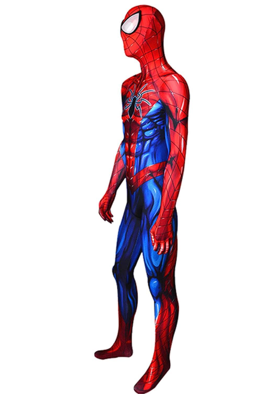 Amazon.com: Disfraz de Spiderman con impresión 3D para ...