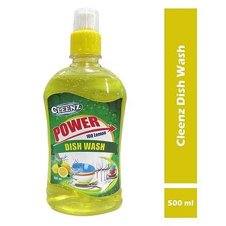 Cleenz Dishwashing Liquid Soap for Kitchen, 500 ml