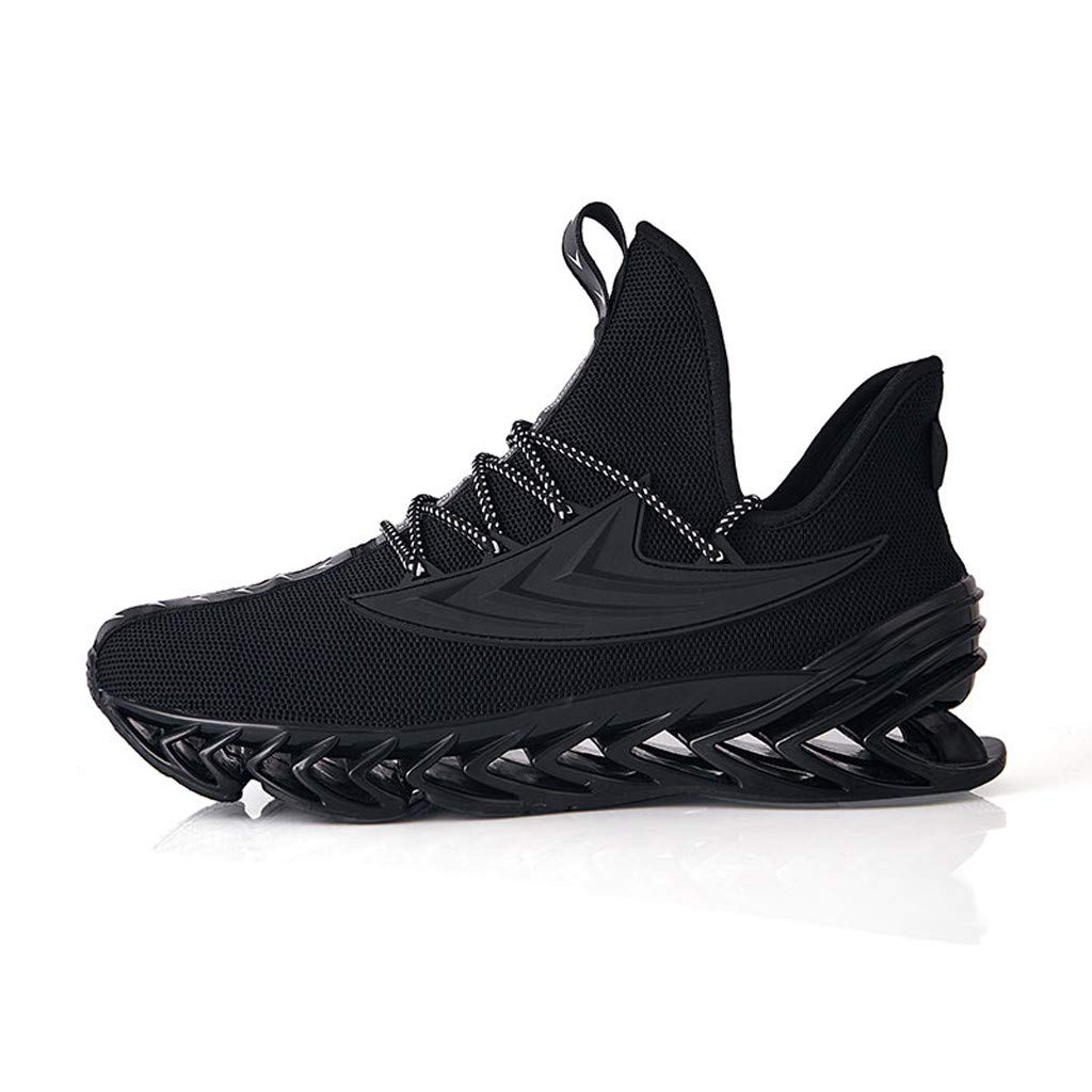 Lefthigh Summer Fashion Men's Sports Shoes Wild Breathable Wear-Resistant Mesh Flying Woven Tide Running Shoes