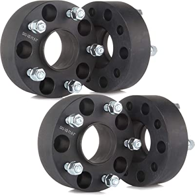 """OCPTY 4PCS 5 lug 2""""(50mm) Hubcentric Wheel Spacers 5x5 to 5x5