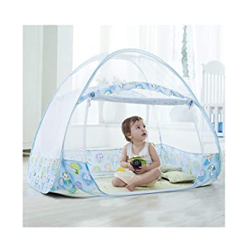 Baby Mosquito Net Foldable Baby Bed Kid Tent Nursery Crib Canopy Netting Cot
