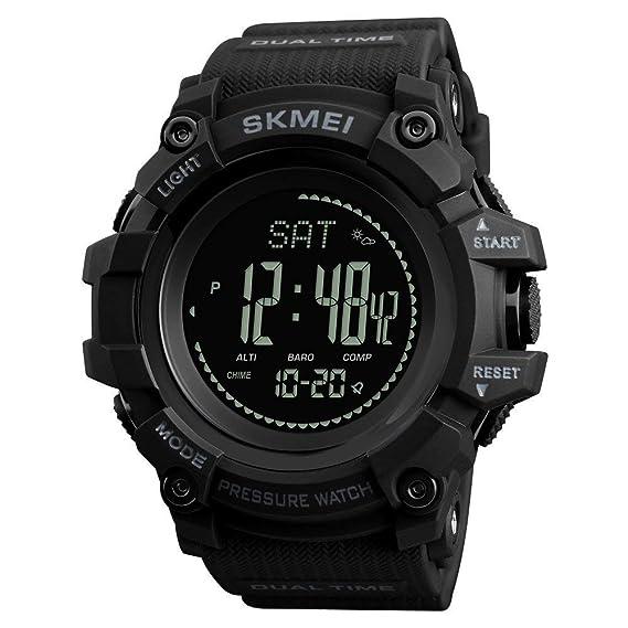 74c59257b691 Reloj de Pulsera para Hombre con brújula Deportiva