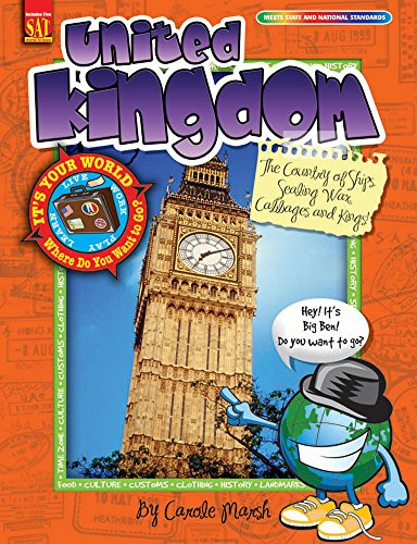 United Kingdom: The Country of Ships, Sealing Wax, Cabbages and Kings! (It's Your World)