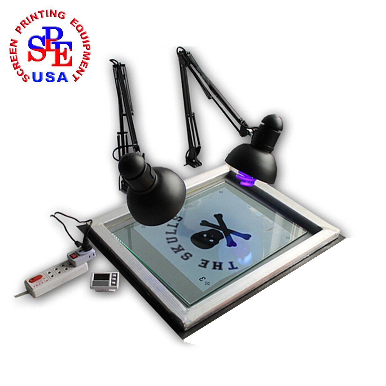 Screen Printing Simple Type UV Exposure Unit Stencil Ink-jet Making Plate Light by Screen Printing  Auxiliary Equipment