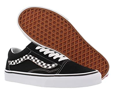 ec08a9abb455 Vans Old Skool (Strip V) Black WHT 5.5 M US Women   4