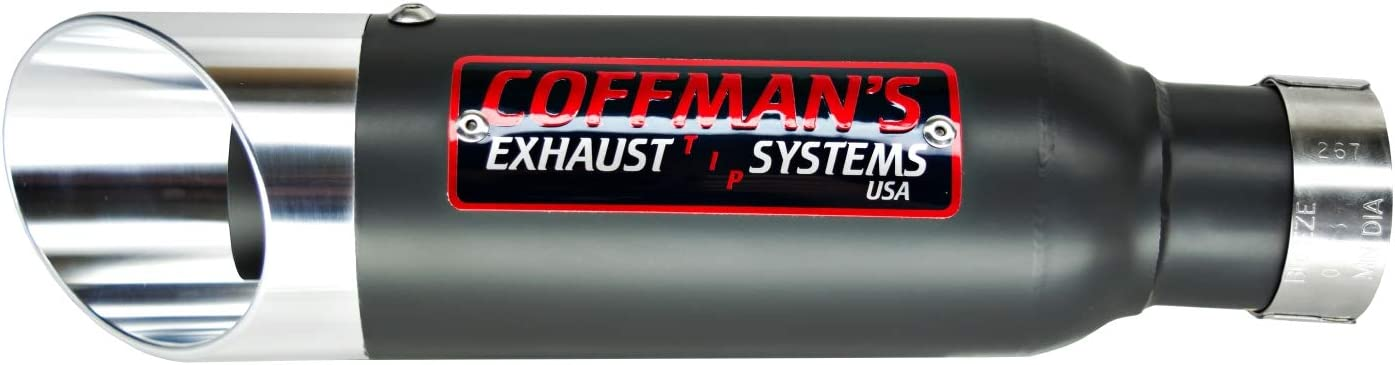 Sportbike with Black Tip Coffmans Shorty Exhaust for Suzuki GSXR 600//750 2008-2010