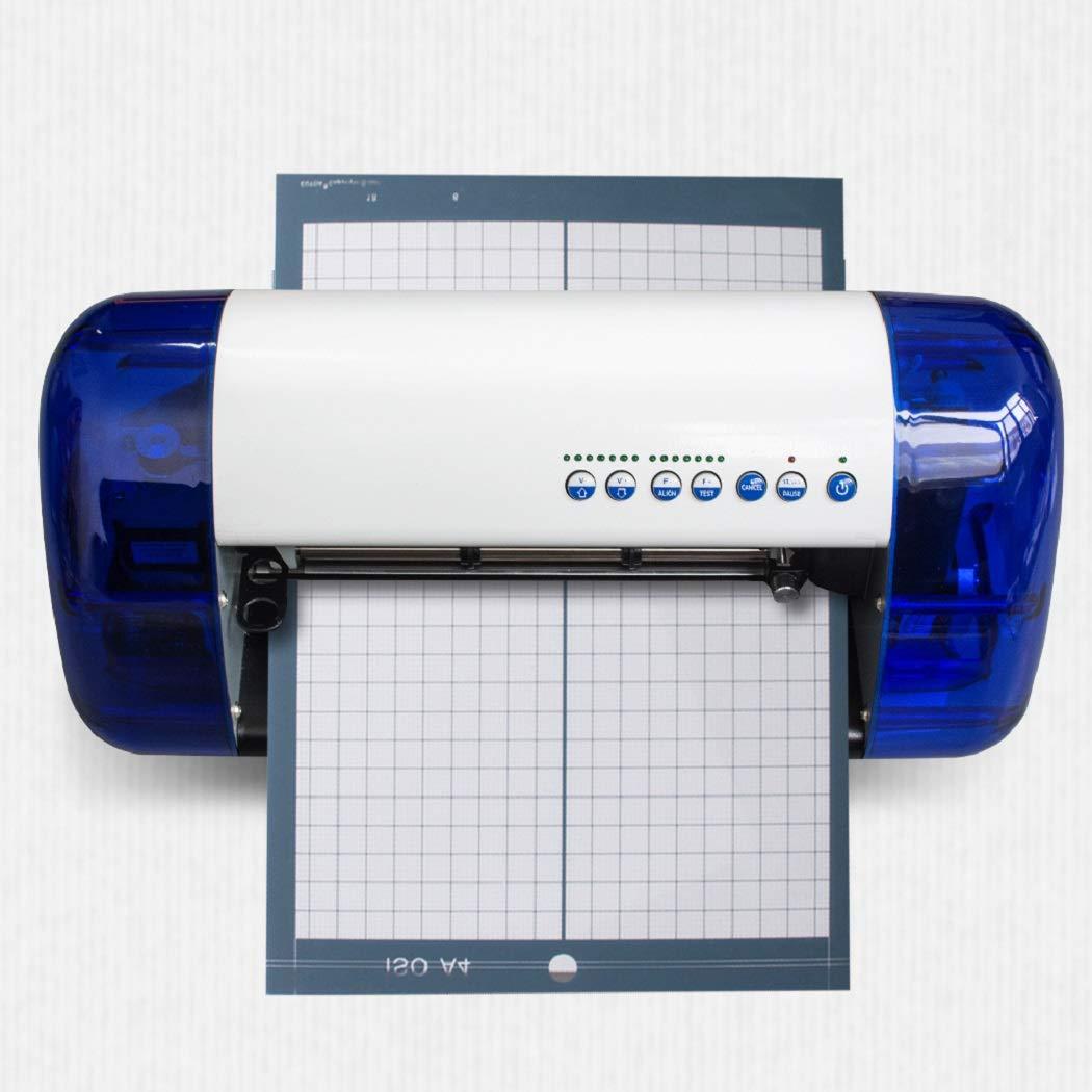 ixaer Vinyl Cutter A4 Mini Plotter Machine Desktop Sign Making Machine Carving Machine Sticker Vinyl Cutter, USA Shipping by ixaer (Image #1)