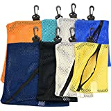 Small Mesh Bags for Storage - 8pc set, different colors & sizes - by Mato & Hash