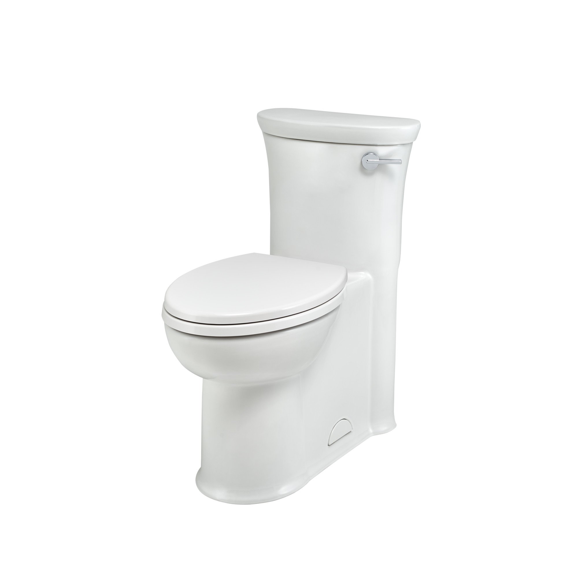 American Standard 2786813.020 Tropic Right Height Elongated One-Piece Toilet with Seat, White