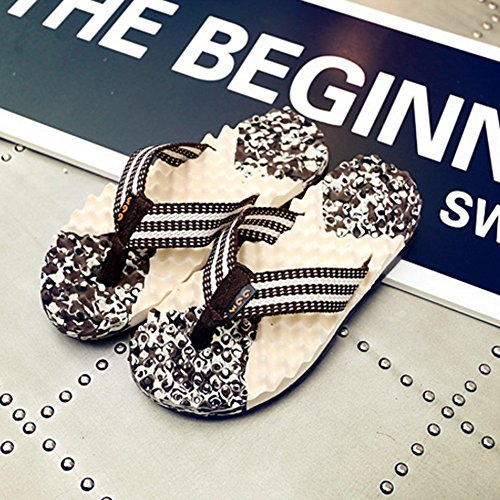 pantoufles imperméables Couleur B UK7 Clip CN41 B Toes EU40 Too Beach Pool à taille chaussures l'eau ZHANGRONG wpXB0qnv