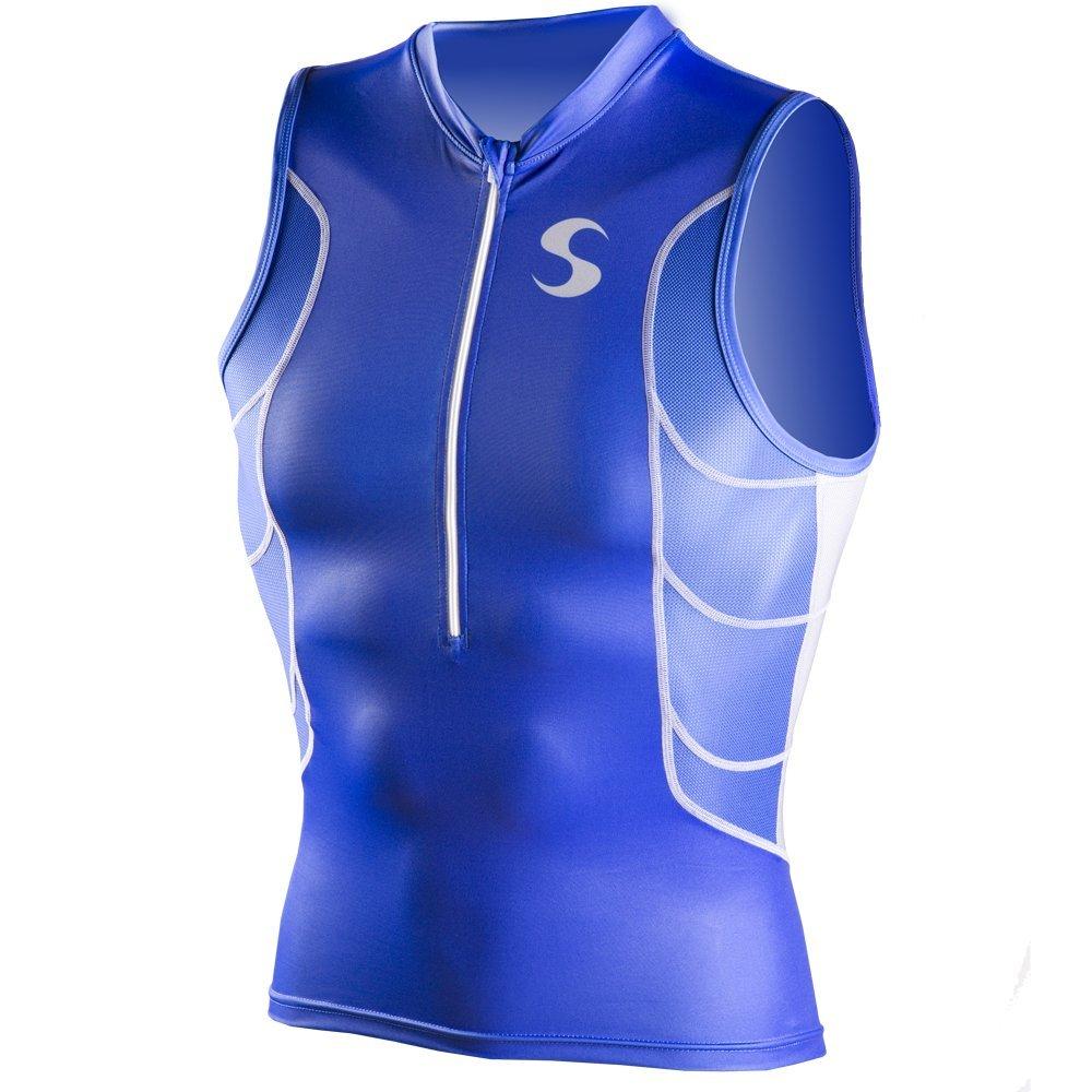 Synergy Men's Elite Tri Singlet (Blue, S)