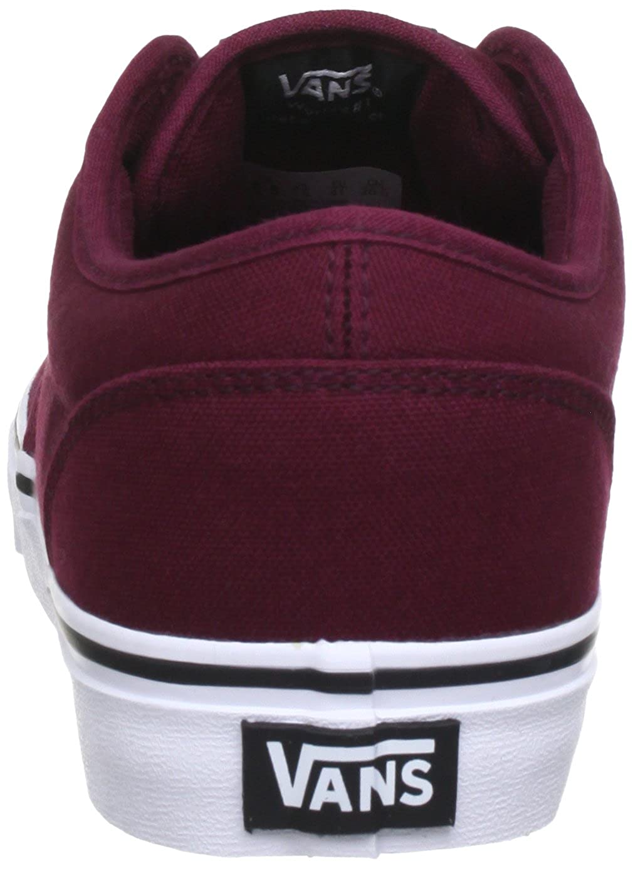 Vans Canvas Herren Atwood Canvas Vans Sneakers Rot (Oxbloo 8j3) 7474aa