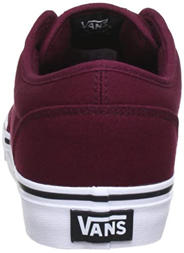 Amazon.com | Vans Men Low-Top Sneakers, Red (Oxblood/White), US 8.5 | Shoes