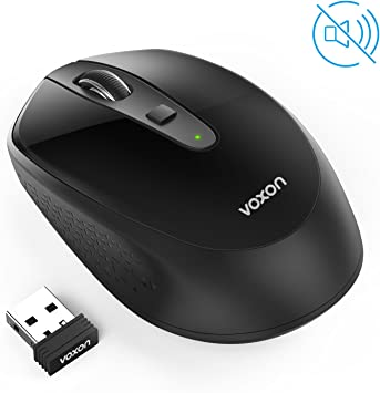 VOXON Omni 2.4G Silencioso Wireless Mouse óptico, Mini Ratón ...