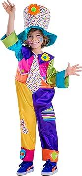 Dress Up America Disfraz de Payaso de Circo para niños: Amazon ...
