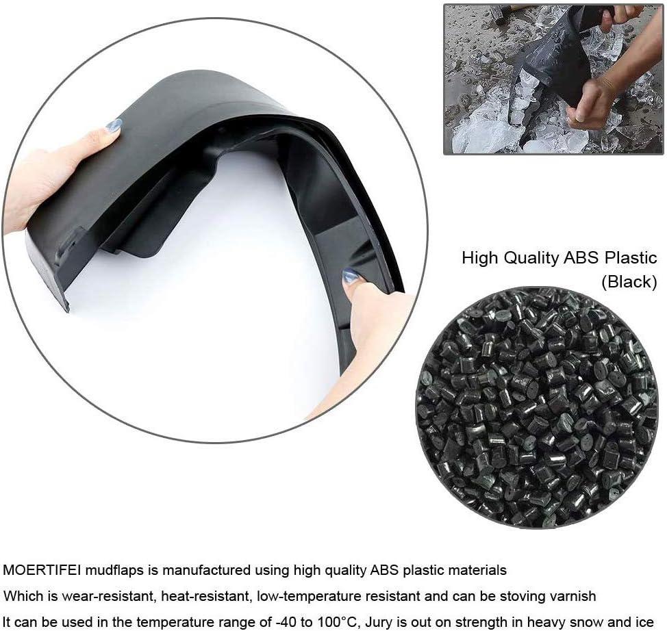 L/&U 4Pcs Auto Kotfl/ügel Fender Mud Flaps Splash Guards Kit kompatibel f/ür Vitara 2015-2018