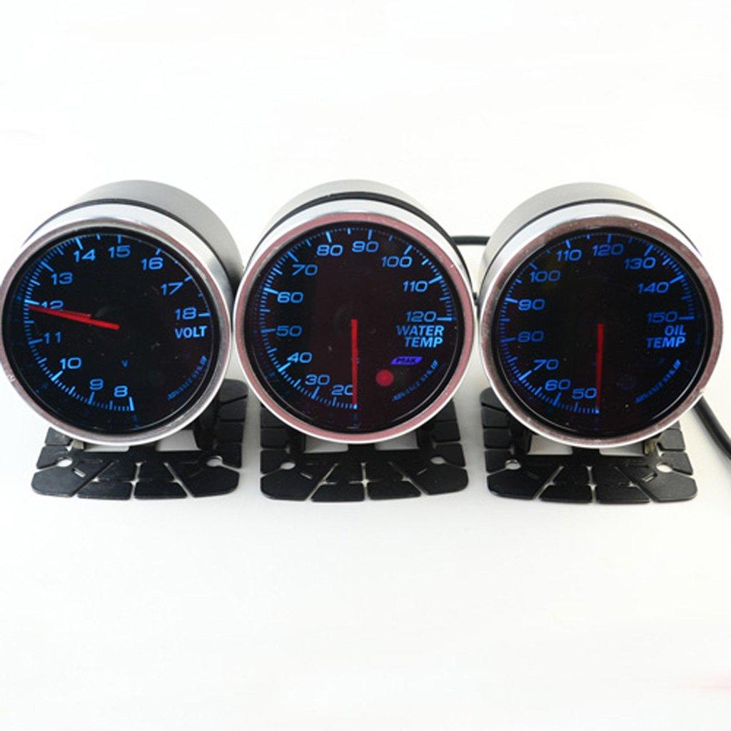 Jili Online Car Oil Temperature Temp Gauge 12 Volt 60mm 2.3 inch 50-150 Degrees Reading by Jili Online (Image #8)