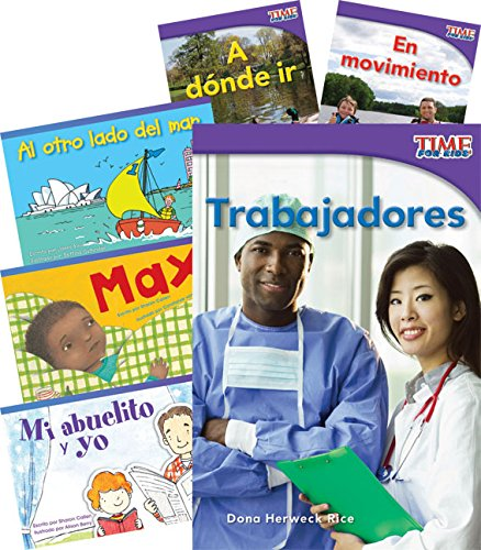 Teacher Created Materials - Classroom Library Collections: Por la comunidad (In the Community) - 6 Book Set - Grade 1 - Guided Reading Level C ()