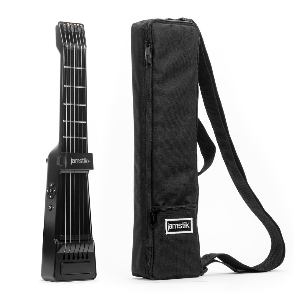 2019年激安 jamstik+ ポータブル ケース付 ギター型 スマート ギター型 MIDIコントローラー ブラック ケース付 ポータブル PSE取得済 B01KHNW26E, エコー米穀:df70e7a4 --- suprjadki.eu