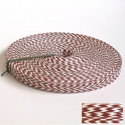 紙バンド手芸用ホビーテープ 30m巻 和モダン2 白/あか茶