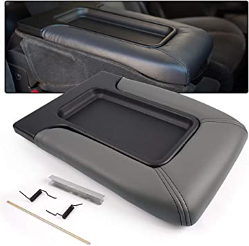 For 2001-2006 Chevy Tahoe//Suburban1500 2500 Grey Center Console Box Arm Rest