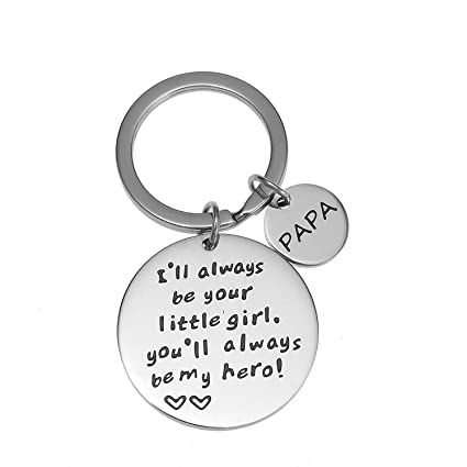 Amazon Com Keychain Gifts For Papa Father Daddy Gift Idea From