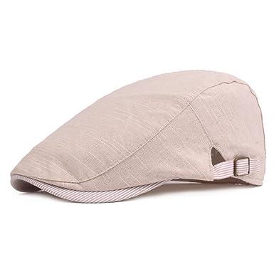 Leisial Classic Beret Hat Cap Visor Beanie Newsboy Peak Cap Baker Men Boy  Hat Visor Beret c46ba8bbf6e