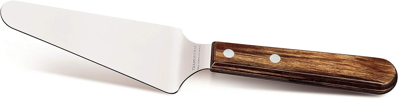 vero legno certificato FSC Paletta per torta in acciaio INOX Tramontina 29810//403