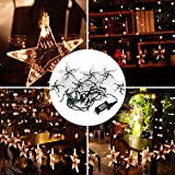 TOPCHANCES Outdoor Solar String Lights,16ft 20 LED 2 Modes Lighting for Christmas Trees, Garden, Patio, Wedding, Party and Holiday Decorations (AC Powered)
