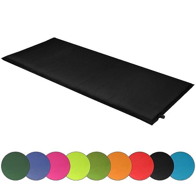 ALPIDEX Isomatte Selfinflating Matte Selbstaufblasende Outdoor Thermomatte in verschiedene Größen und Farben