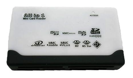 Lector de tarjetas USB Todo en uno MICRO SDHC/XD/MMC/MS/CF ...