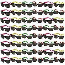 Bulk Wholesale Lot - Neon Party Sunglasses - Funny Party hats