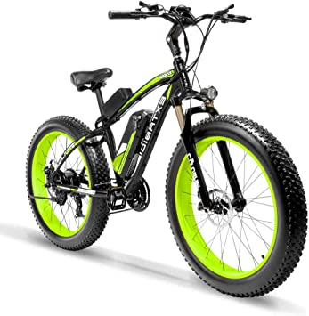 Extrbici XF660 Bicicleta Eléctrica 48V 500W/1000W Fat Bike de ...