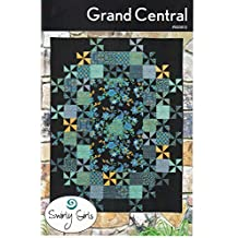 """Grand Central Quilt Pattern by Swirly Girls Designs 60"""" x 78"""""""
